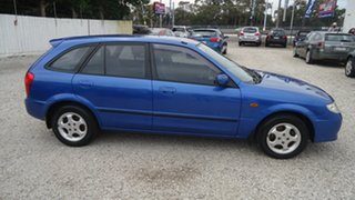2003 Mazda 323 BJ II-J48 Astina Blue 4 Speed Automatic Hatchback.