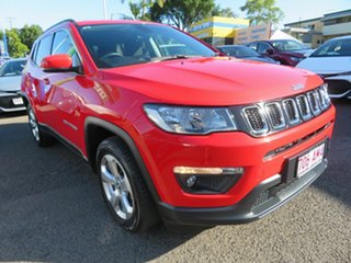 2019 Jeep Compass M6 MY18 Longitude (FWD) Red 6 Speed Automatic Wagon.