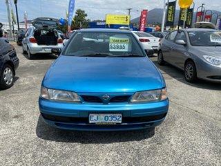 1995 Nissan Pulsar N15 LX Blue 4 Speed Automatic Sedan.