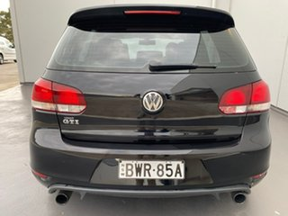 2011 Volkswagen Golf VI MY11 GTI DSG Black 6 Speed Sports Automatic Dual Clutch Hatchback
