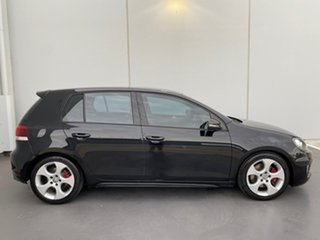 2011 Volkswagen Golf VI MY11 GTI DSG Black 6 Speed Sports Automatic Dual Clutch Hatchback.