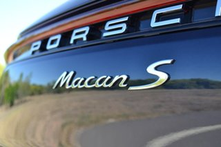 2019 Porsche Macan 95B MY19 S PDK AWD Blue 7 Speed Sports Automatic Dual Clutch Wagon
