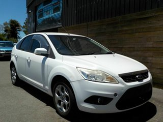 2011 Ford Focus LV Mk II LX White 4 Speed Sports Automatic Hatchback.