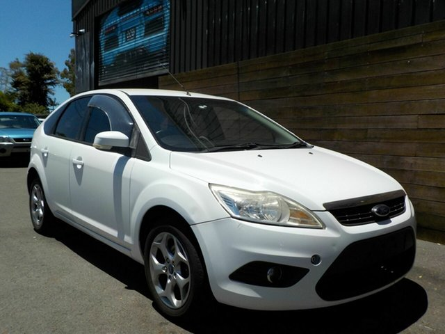 Used Ford Focus LV Mk II LX Labrador, 2011 Ford Focus LV Mk II LX White 4 Speed Sports Automatic Hatchback