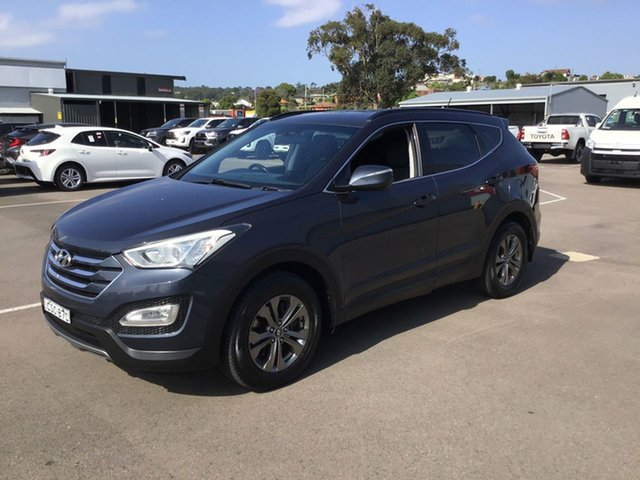 Used Hyundai Santa Fe DM MY13 Active Cardiff, 2013 Hyundai Santa Fe DM MY13 Active Blue 6 Speed Sports Automatic Wagon