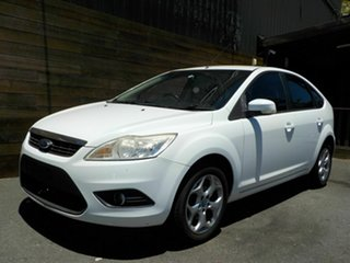 2011 Ford Focus LV Mk II LX White 4 Speed Sports Automatic Hatchback