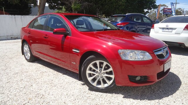 Used Holden Berlina VE II Seaford, 2010 Holden Berlina VE II Red 6 Speed Sports Automatic Sedan