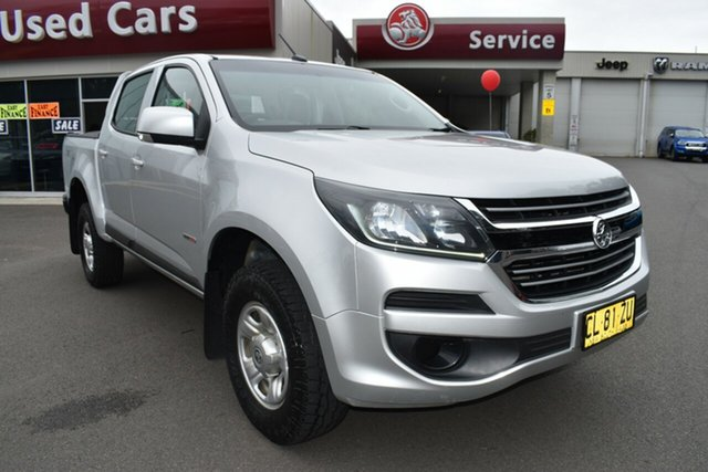 Used Holden Colorado RG MY17 LS Pickup Crew Cab Gosford, 2017 Holden Colorado RG MY17 LS Pickup Crew Cab Silver 6 Speed Sports Automatic Utility