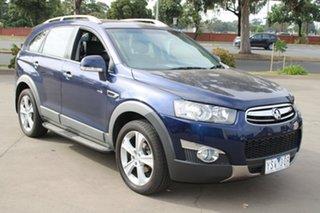 2011 Holden Captiva CG Series II 7 LX (4x4) Blue 6 Speed Automatic Wagon.