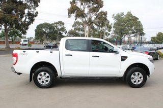 2015 Ford Ranger PX XLS 3.2 (4x4) White 6 Speed Manual Dual Cab Utility