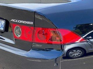 2007 Honda Accord Euro CL MY2007 Luxury Black 5 Speed Automatic Sedan