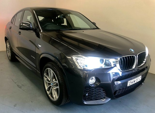 Used BMW X4 F26 xDrive20d Coupe Steptronic Newcastle West, 2016 BMW X4 F26 xDrive20d Coupe Steptronic Grey 8 Speed Automatic Wagon