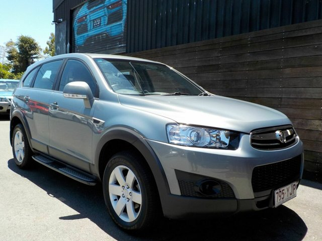 Used Holden Captiva CG Series II MY12 7 SX Labrador, 2013 Holden Captiva CG Series II MY12 7 SX Silver 6 Speed Sports Automatic Wagon
