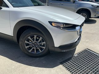 2020 Mazda CX-30 DM2W7A G20 SKYACTIV-Drive Pure Snowflake White 6 Speed Sports Automatic Wagon.