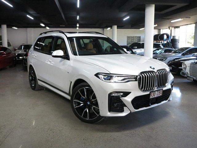 Used BMW X7 G07 xDrive30d Steptronic Albion, 2019 BMW X7 G07 xDrive30d Steptronic Mineral White 8 Speed Sports Automatic Wagon