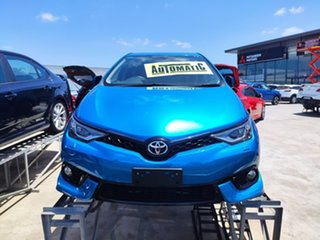 2016 Toyota Corolla ZRE182R ZR S-CVT Blue 7 Speed Constant Variable Hatchback.