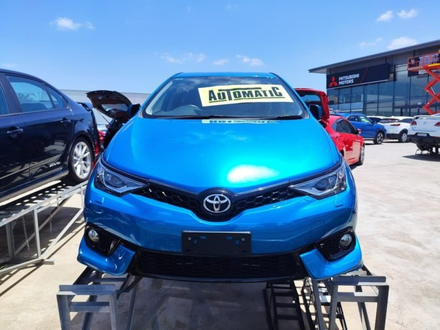 Used Toyota Corolla ZRE182R ZR S-CVT Liverpool, 2016 Toyota Corolla ZRE182R ZR S-CVT Blue 7 Speed Constant Variable Hatchback