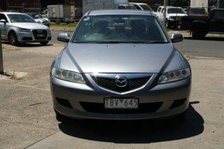 2004 Mazda 6 GG Classic Silver 4 Speed Auto Activematic Sedan.