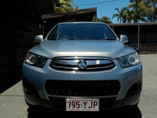 2013 Holden Captiva CG Series II MY12 7 SX Silver 6 Speed Sports Automatic Wagon