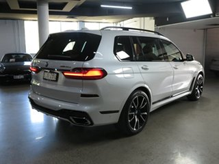 2019 BMW X7 G07 xDrive30d Steptronic Mineral White 8 Speed Sports Automatic Wagon