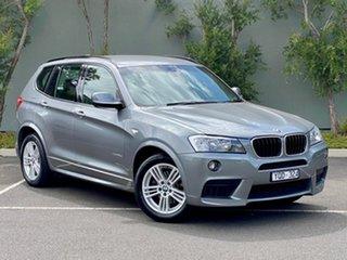 2011 BMW X3 F25 xDrive20d Steptronic Grey 8 Speed Automatic Wagon.