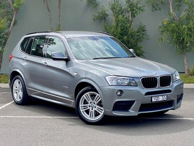 Used BMW X3 F25 xDrive20d Steptronic Templestowe, 2011 BMW X3 F25 xDrive20d Steptronic Grey 8 Speed Automatic Wagon
