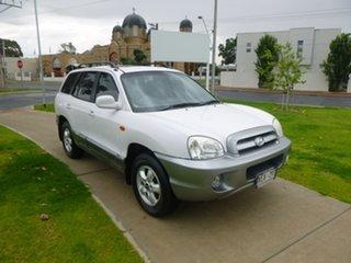2005 Hyundai Santa Fe SM White Sports Automatic Wagon.