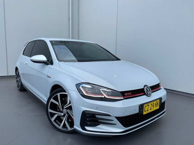 Used Volkswagen Golf 7.5 MY17 GTI Performance DSG Edition 1 Liverpool, 2017 Volkswagen Golf 7.5 MY17 GTI Performance DSG Edition 1 White Silver 7 Speed