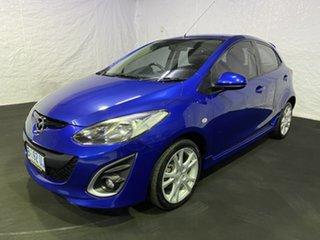2010 Mazda 2 DE10Y1 Genki Blue 4 Speed Automatic Hatchback.