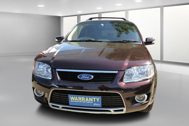Used Ford Territory SY MkII Ghia RWD West Footscray, 2010 Ford Territory SY MkII Ghia RWD 4 Speed Sports Automatic Wagon