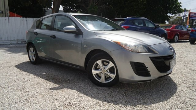 Used Mazda 3 BL10F1 Neo Seaford, 2010 Mazda 3 BL10F1 Neo Grey 6 Speed Manual Hatchback