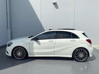 2017 Mercedes-Benz A-Class W176 808MY A250 D-CT 4MATIC Sport White 7 Speed