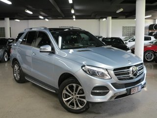2015 Mercedes-Benz GLE-Class W166 GLE250 d 9G-Tronic 4MATIC Silver 9 Speed Sports Automatic Wagon.