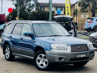 2007 Subaru Forester 79V MY07 X AWD Blue 4 Speed Automatic Wagon.
