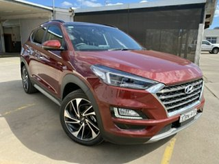 2018 Hyundai Tucson TL3 MY19 Highlander D-CT AWD Red 7 Speed Sports Automatic Dual Clutch Wagon.