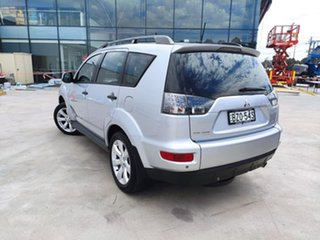 2011 Mitsubishi Outlander ZH MY11 LS 2WD Silver, Chrome 6 Speed Constant Variable Wagon.