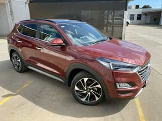2018 Hyundai Tucson TL3 MY19 Highlander D-CT AWD Red 7 Speed Sports Automatic Dual Clutch Wagon