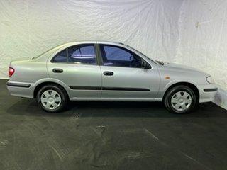 2002 Nissan Pulsar N16 ST Silver 4 Speed Automatic Sedan.