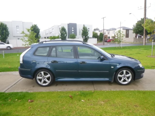 Used Saab 9-3 Linear SportCombi Beverley, 2006 Saab 9-3 444 Linear SportCombi Blue Sports Automatic Wagon