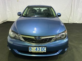 2009 Subaru Impreza G3 MY09 R AWD Blue 5 Speed Manual Sedan