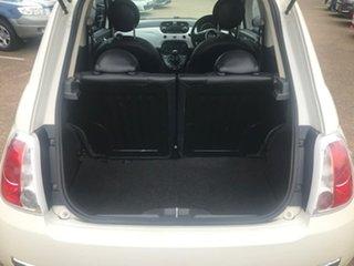2008 Fiat 500 Series 1 Sport White 6 Speed Manual Hatchback