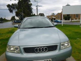 2002 Audi A3 8L Blue Automatic Hatchback.