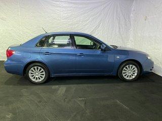 2009 Subaru Impreza G3 MY09 R AWD Blue 5 Speed Manual Sedan.