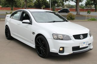 2010 Holden Commodore VE MY10 SV6 White 6 Speed Manual Sedan.