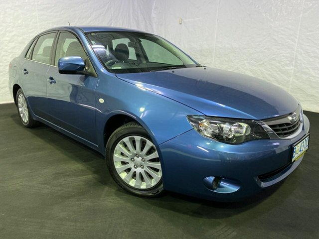 Used Subaru Impreza G3 MY09 R AWD Derwent Park, 2009 Subaru Impreza G3 MY09 R AWD Blue 5 Speed Manual Sedan