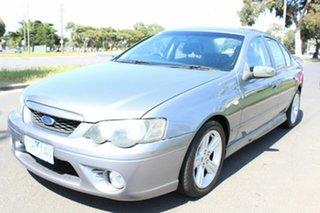 2004 Ford Falcon BA XR6 Silver 4 Speed Sports Automatic Sedan.