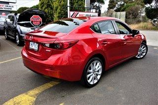 2015 Mazda 3 BM5236 SP25 SKYACTIV-MT Red 6 Speed Manual Sedan.