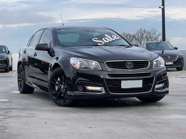 Used Holden Commodore VF MY15 SS V Redline Liverpool, 2015 Holden Commodore VF MY15 SS V Redline Black 6 Speed Sports Automatic Sedan