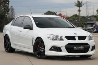 2014 Holden Special Vehicles ClubSport Gen F R8 White 6 Speed Auto Active Sequential Sedan.