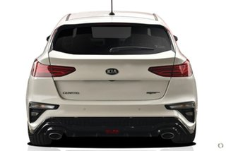 2020 Kia Cerato BD MY21 GT DCT White 7 Speed Sports Automatic Dual Clutch Hatchback.